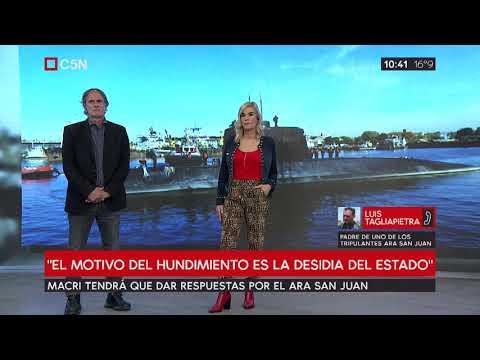 Macri tendrá que dar respuestas sobre el Ara San Juan
