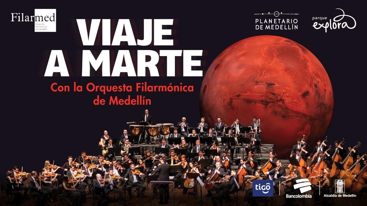 Concierto de reapertura: viaje a Marte con orquesta