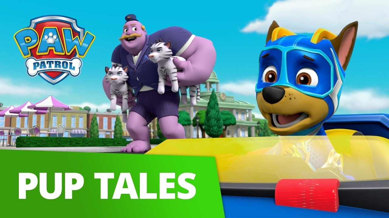 PAW Patrol | Mighty Pups: Pups Save a Mega Mayor | Rescue Episode | PAW Patrol Official & Friends