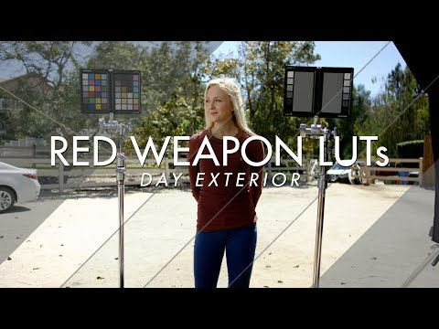 TEASER - RED WEAPON LUTs: DAY EXTERIOR