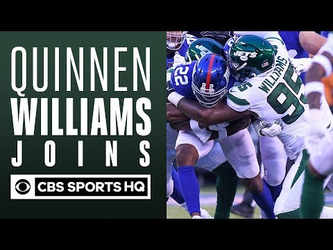 Quinnen Williams talks with CBS Sports HQ   Jets Training Camp   CBS Sports HQ