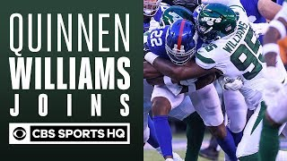 Quinnen Williams talks with CBS Sports HQ | Jets Training Camp | CBS Sports HQ