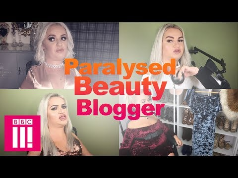 The Paralysed Beauty Blogger Inspiring Others With Her Beauty Tips | Living Differently