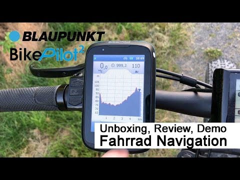 Blaupunkt Bikepilot2 Unboxing Review Fazit Youtube