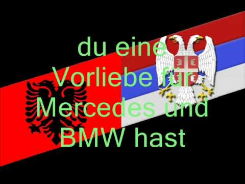 Du bist Serbe oder Albaner (Deutsch, German) - YouTube