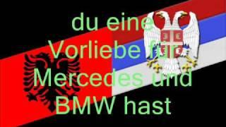 Du bist Serbe oder Albaner (Deutsch, German)
