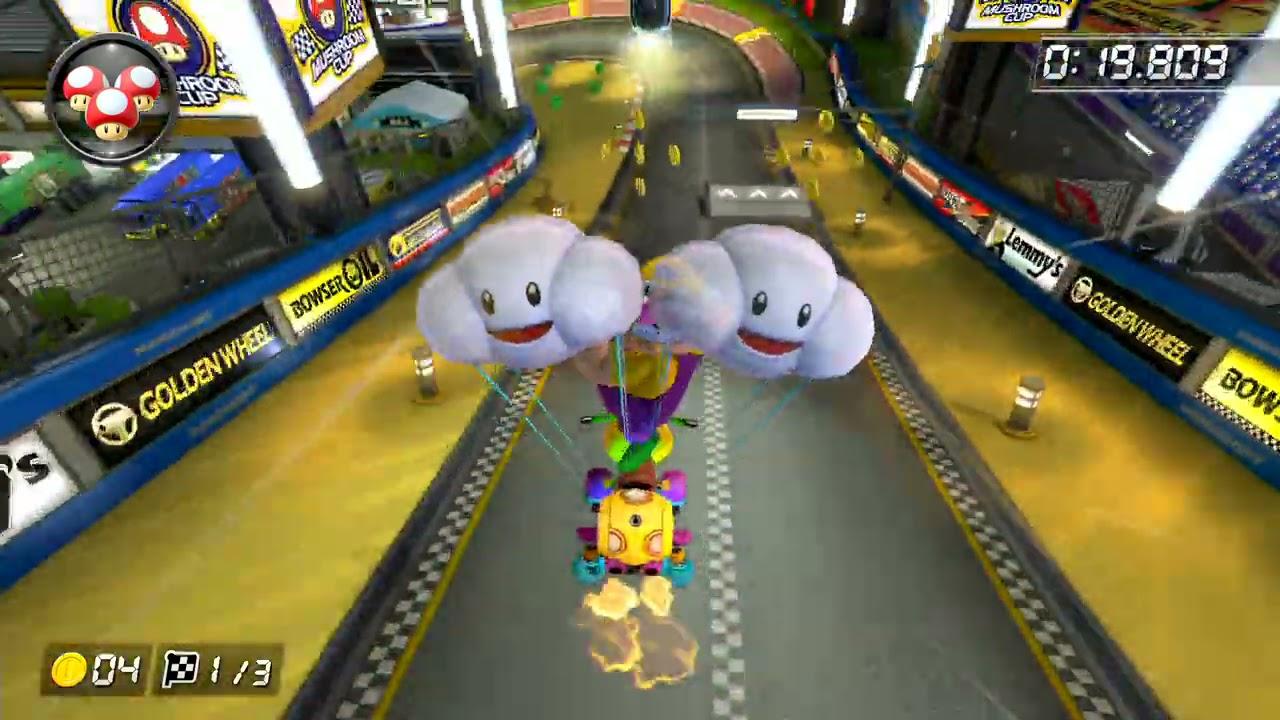 Mario Kart Stadium [200cc] - 1:07.493 - Army (Mario Kart 8 Deluxe World Record)