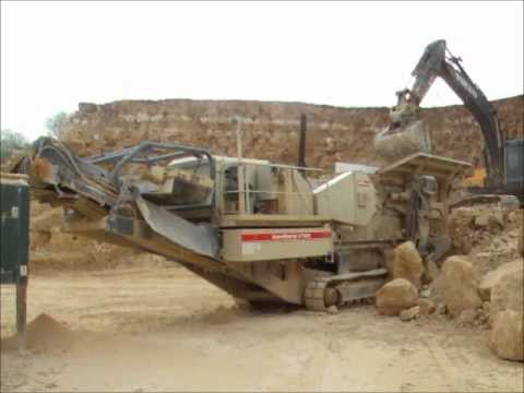 Metso LT105 Track Mounted Jaw Crusher