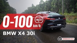 2019 BMW X4 xDrive30i 0-100km/h & engine sound