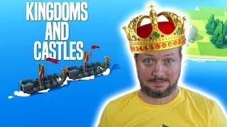 VIKINGER OG DRAGER ANGRIBER! - Kingdoms And Castles Dansk Ep 2