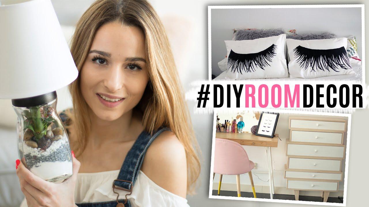 2 diys para decorar tu cuarto nuevos muebles room decor youtube - Manualidades para decorar habitacion ...