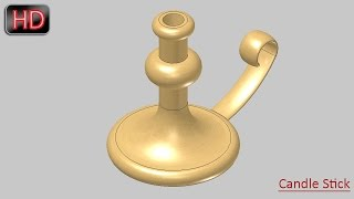 Basic Techniques-Revolve and Sweep Features (SolidWorks)