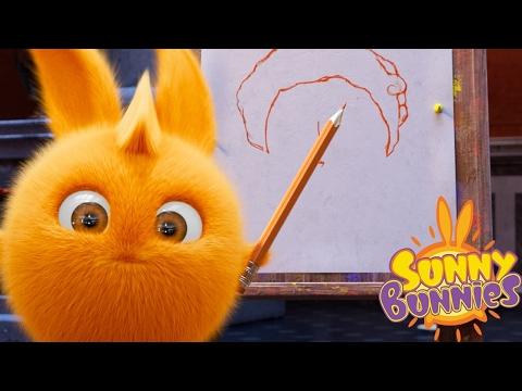 Sunny Bunnies | Sunny Bunnies Aula de arte | Desenhos animados engraçados para crianças