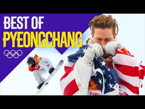 Relive Shaun White's Gold Medal Halfpipe Performance and Reaction!   Pyeongchang 2018   Eurosport