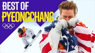 Relive Shaun White's Gold Medal Halfpipe Performance and Reaction! | Pyeongchang 2018 | Eurosport