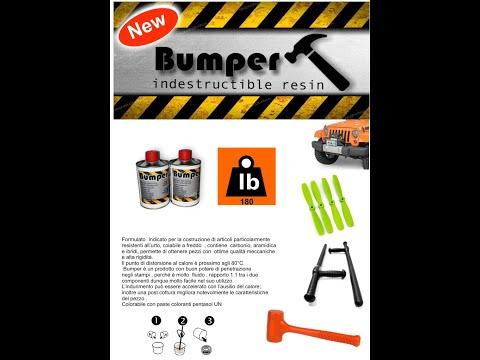 "Bumper resin - PROCHIMA news 2018 - ""Real Nanotechnology resin"""