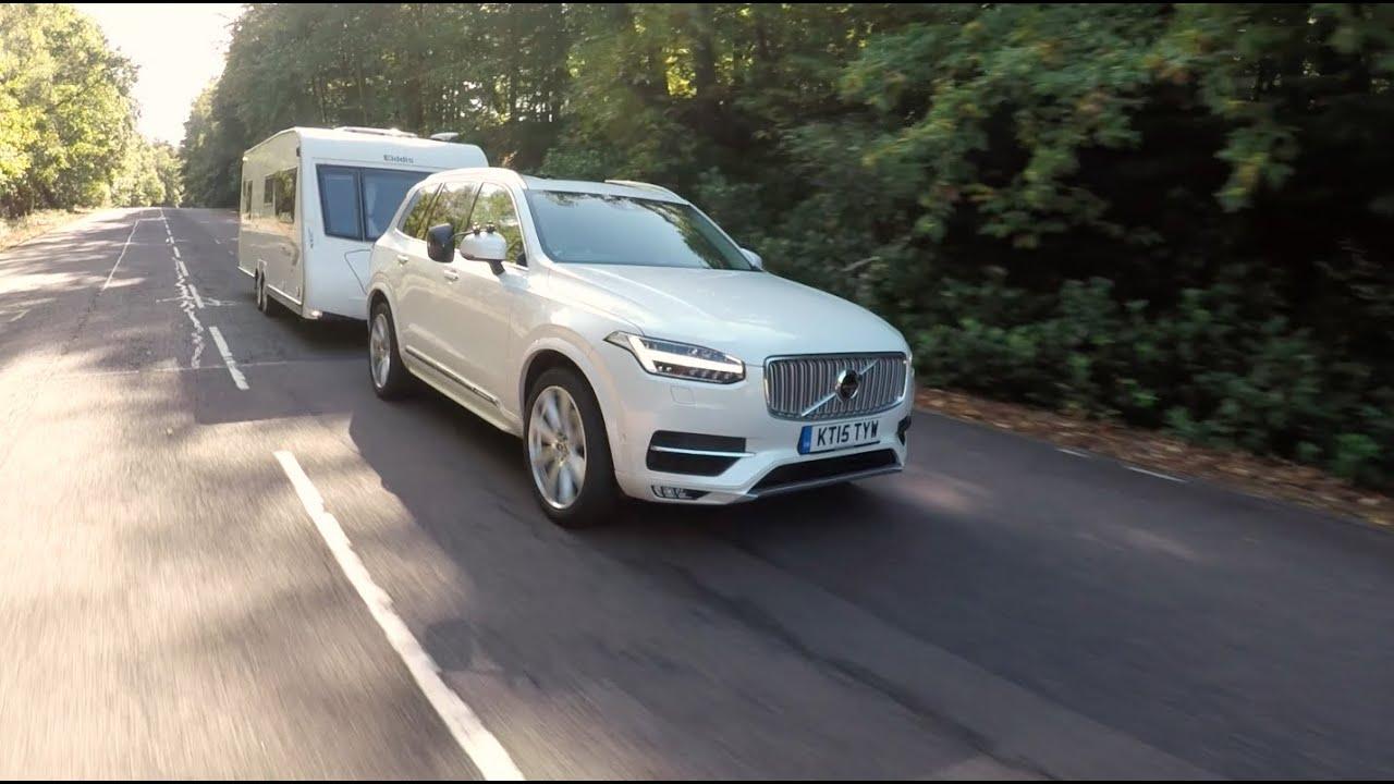 The Practical Caravan Volvo XC90 review - YouTube