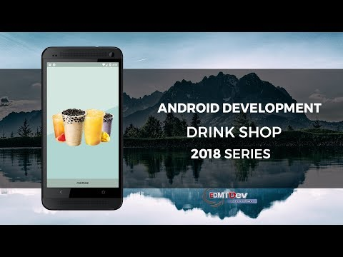 Android Development Tutorial - Drink Shop part 1 (Setup project and PHP Backend)