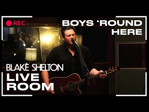 """Blake Shelton - """"Boys 'Round Here"""" captured in The Live Room"""