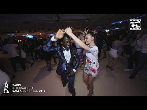 Mouaze Konaté &  Cozette - social dancing @ PARIS INTL SALSA CONGRESS 2018