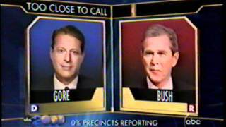 2000 Election Night Coverage (Part 1 of 38)