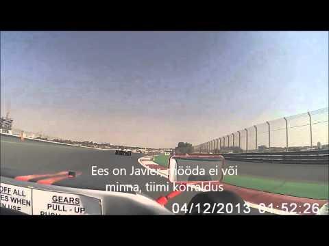 Vormel 3-ga Dubai autodroomil