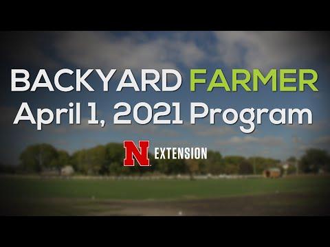 Backyard Farmer April 1, 2021