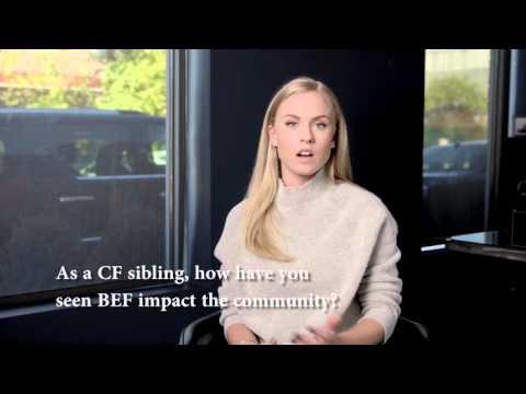 Ask Sydney Esiason: What is your favorite Boomer Esiason Foundation program?