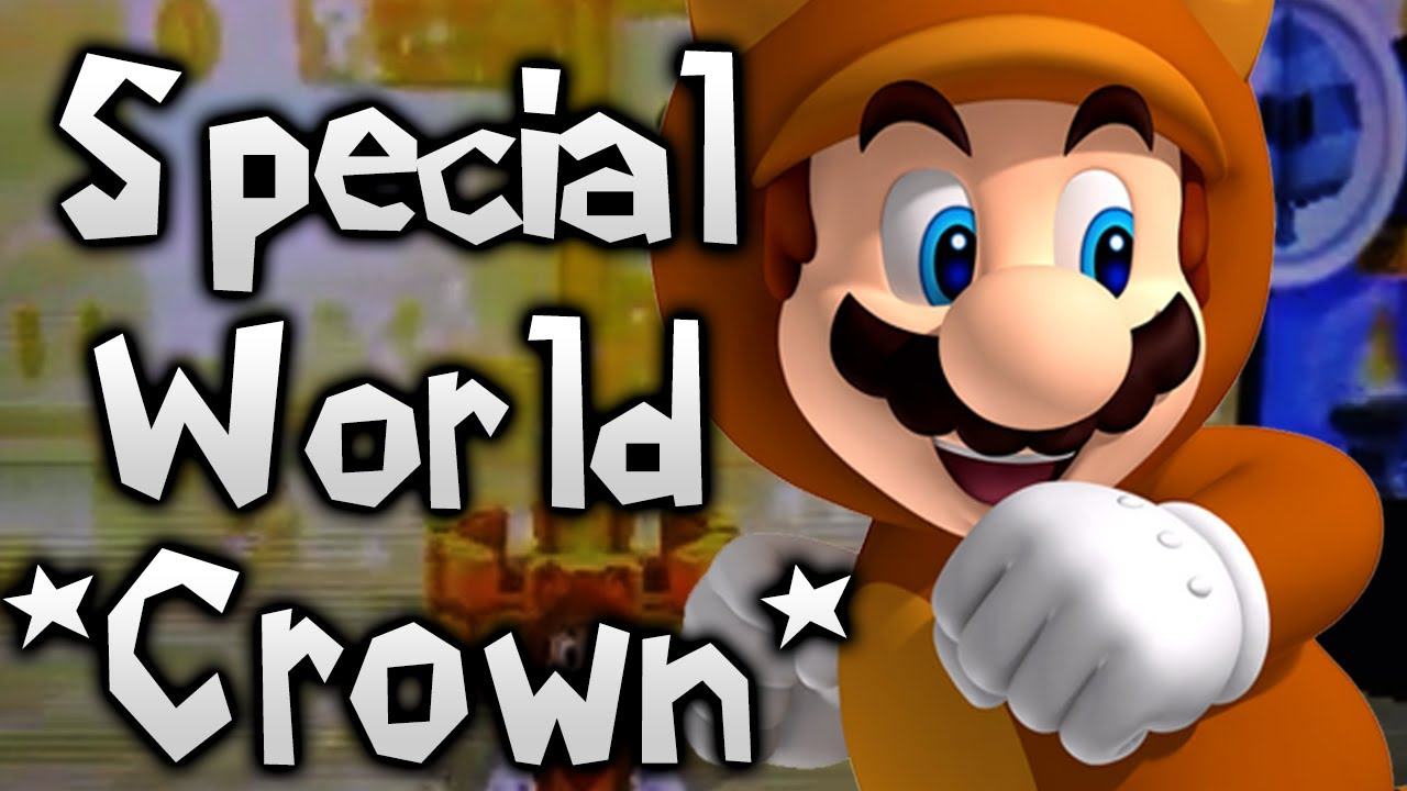 super mario 3d land how to unlock special world 8 crown