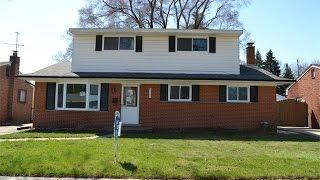 Warren Michigan House For Sale, 4722 Anna St.