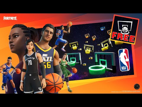 Fortnite x NBA Crossover Event Challenges! How to complete them? Unlock 200,000 XP + Free Banner!