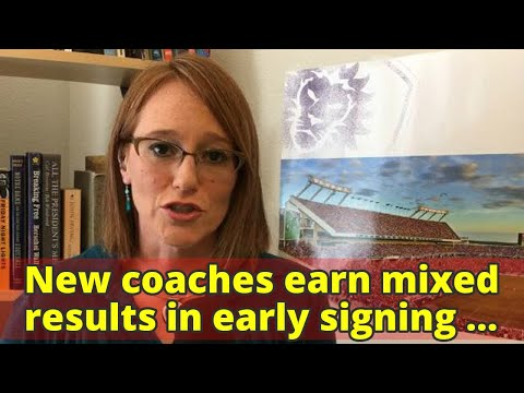 New coaches earn mixed results in early signing period