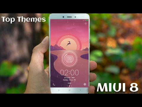 simple clean elegant themes for miui 8 top themes for redmi note