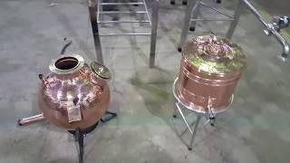 Como é uma fábrica de alambiques? (Santa Efigênia)