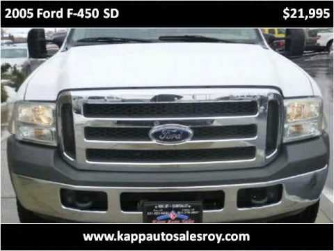 2005 Ford F 450 Sd Used Cars Roy Ut Youtube