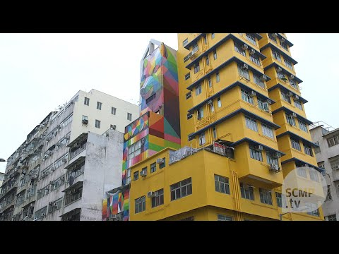 Street artists give a new look to Sham Shui Po, one of the oldest districts in Hong Kong