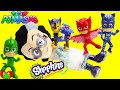 PJ Masks and Paw Patrol Saves the Day Romeo Steals Surprises