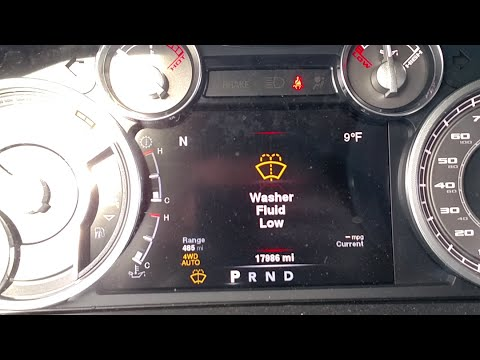 How To Fix A Ram 1500s Washer Fluid Sensor After Using Rainx