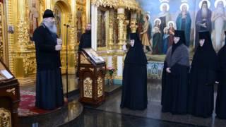 Посещение митр.Арсением Свято-Георгиевского подворья Городокского монастыря