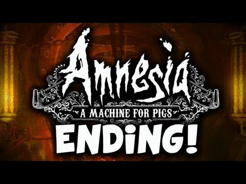 ENDING!  Amnesia: A Machine for Pigs Gameplay Walkthrough Playthrough  Part 5