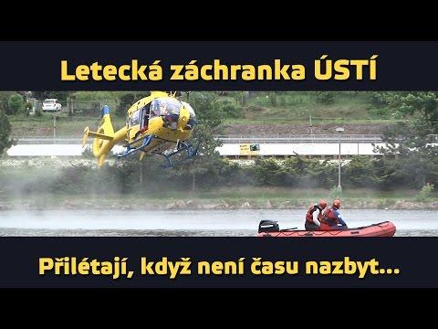 airZone.TV - 12. 8. 2015 - Letecká záchranka Ústí nad Labem (www.airzone.tv)