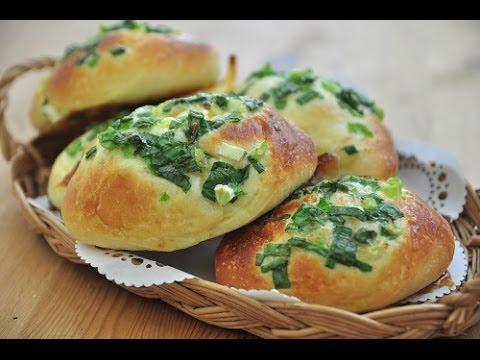 台式蔥花麵包。Green Onion  bread