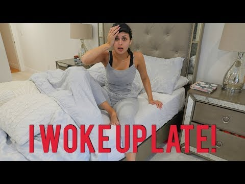 Woke Up Late Quick Makeup & Hair Tutorial