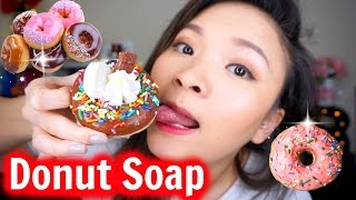 Thử Bánh Donut Xà Phòng   Try Donut Soap   Eat It? ♡ BeeSweetiee