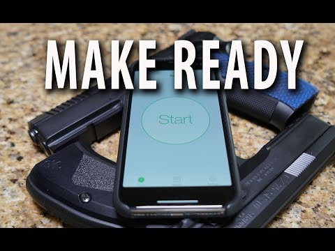 Great Shot Timer App - Make Ready!   6 By 6 Drill