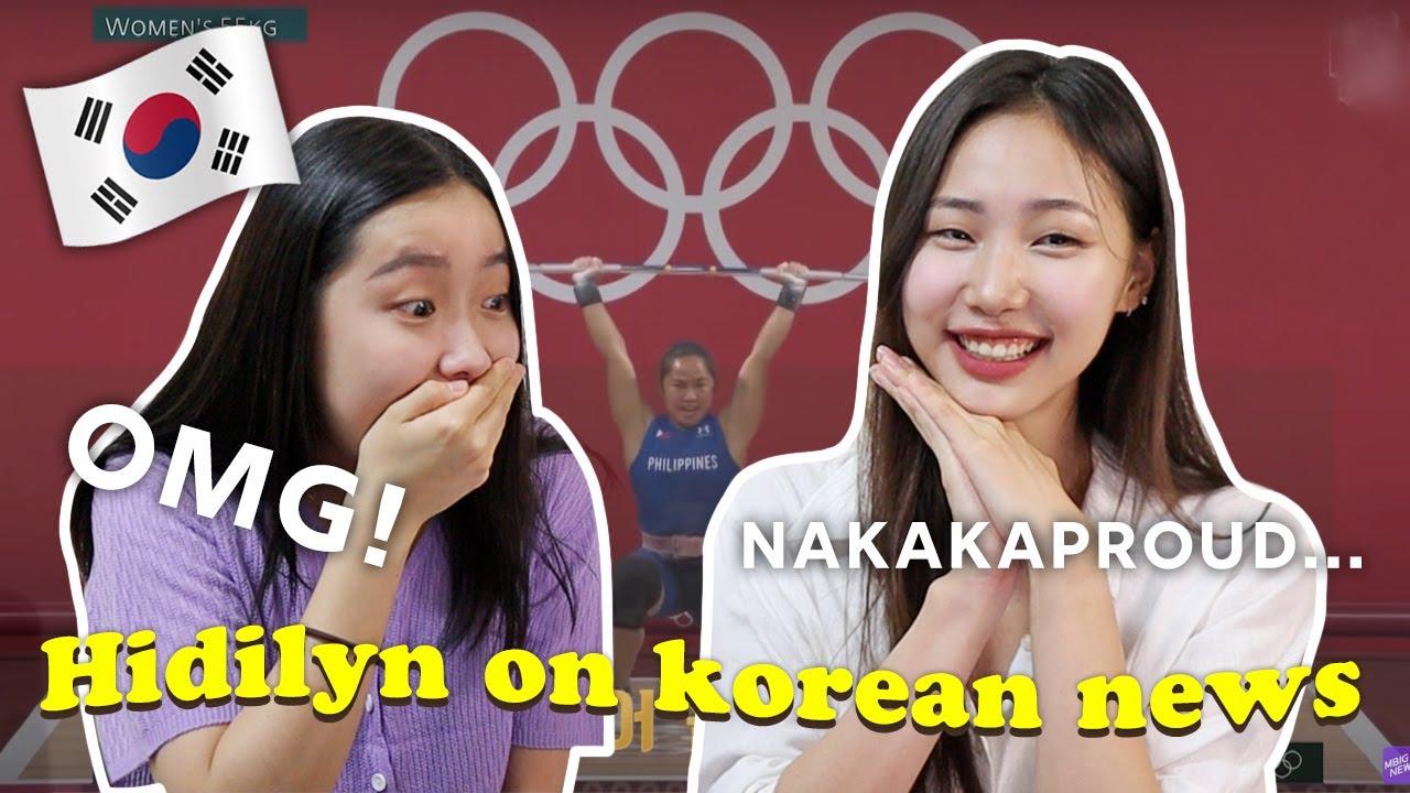 Congrats! 🇵🇭🥺 | FIRST Filipina Gold Medalist on Korean News