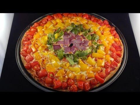 Rainbow Pizza -with yoyomax12