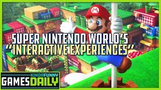 """Super Nintendo World Focuses on """"Interactive Experiences"""" - Kinda Funny Games Daily 01.15.20"""