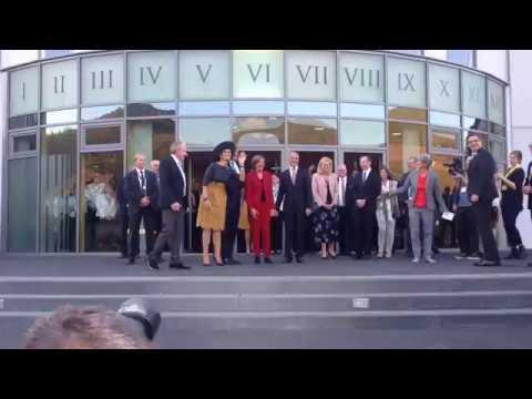 Das niederländische Köningspaar besucht Bernkastel-Kues