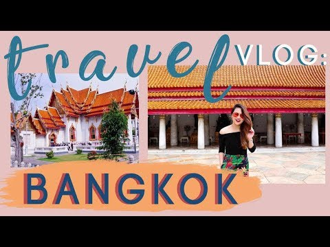 Travel Vlog: Bangkok with the Family! Food trip! (Part 1; 2017) | Ashley Sandrine